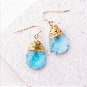 Starfish Project Aqua Earrings